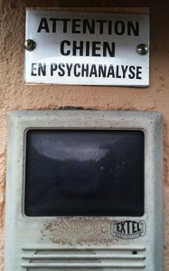 Attention, chien en psychanalyse