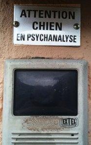 Attention, chien en psychanalyse